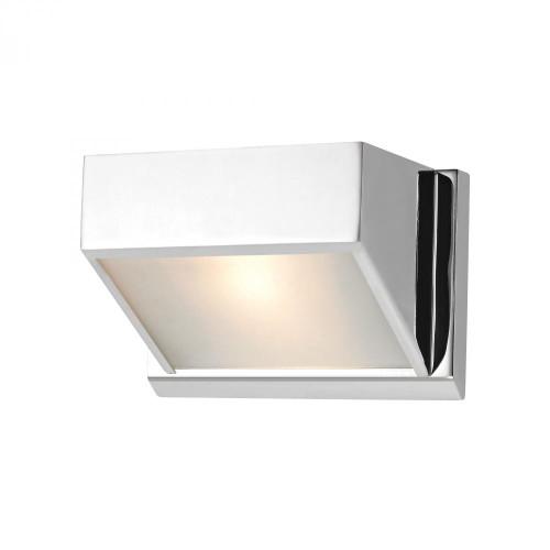 Devon 1 Light Vanity In Chrome With Opal Glass Lens BV351-5-15
