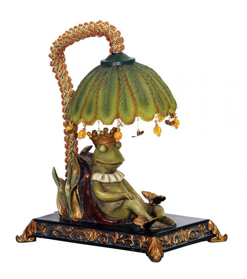 Sleeping King Frog Mini Lamp 91-740