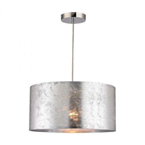 Boulevard 1 Light Pendant In Silver D2957