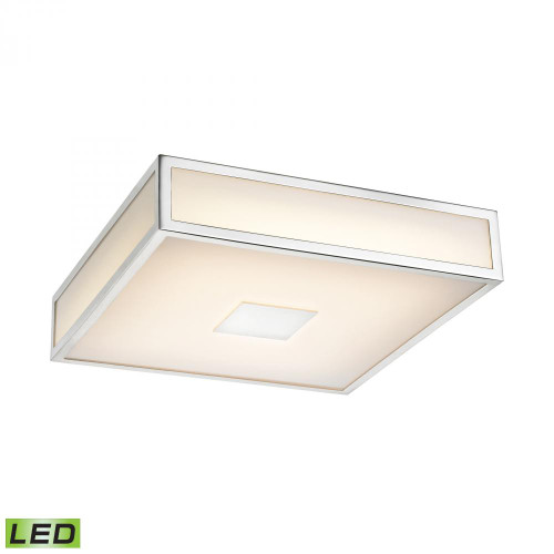 Hampstead 1 Light LED Flushmount In Chrome FML4000-10-15