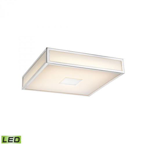 Hampstead 1 Light LED Flushmount In Chrome FML4100-10-15