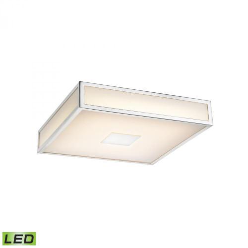 Hampstead 1 Light LED Flushmount In Chrome FML4100-10-15