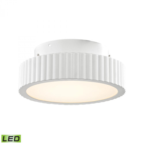 Digby 10 Watt LED Flushmount In Matte White FML600-10-30