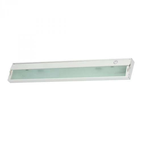ZeeLite 3 Lamp Cabinet Light In White And Diffused Glass HZ026RSF