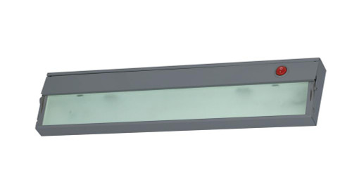 ZeeLite 1 Lamp Cabinet Light In Stainless Steel And Diffused Glass HZ109RSF