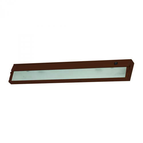 Wall Lights By Alico ZeeLite 3 Lamp Cabinet Light In Bronze And Diffused Glass HZ326RSF