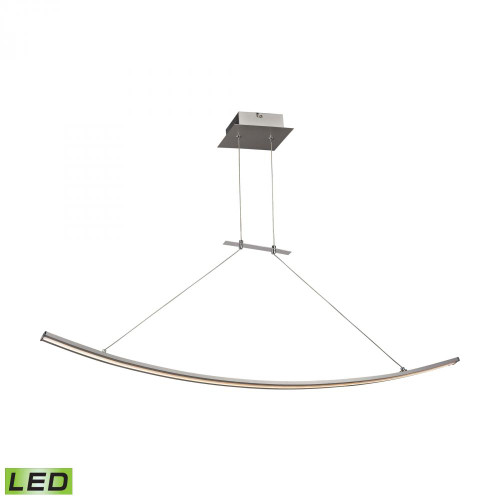 Bow 28 Watt LED Pendant In Aluminum LC1310-10-98