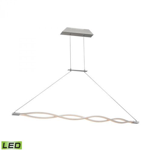 Twist 36 Watt LED Pendant In Aluminum LC1350-10-98