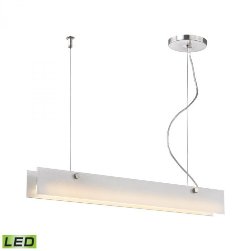 Iris 10 Watt LED Pendant In Aluminum LC4020-10-98