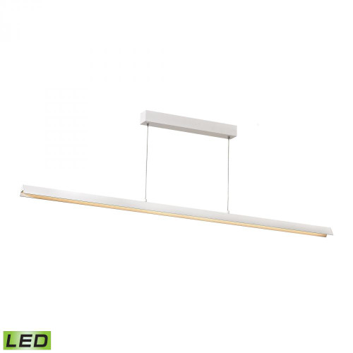 Tent LED Pendant In Matte White LC4200-0-30