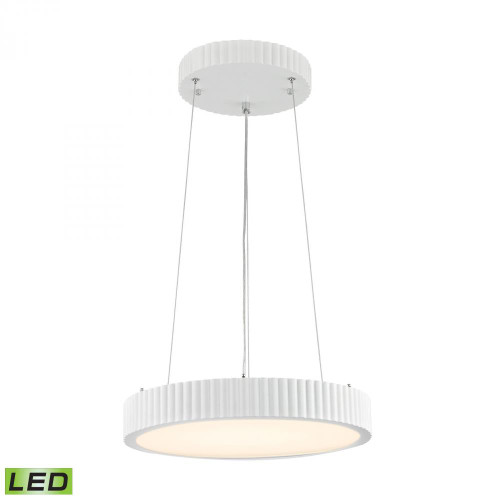 Digby 24 Watt LED Pendant In Matte White LC602-10-30