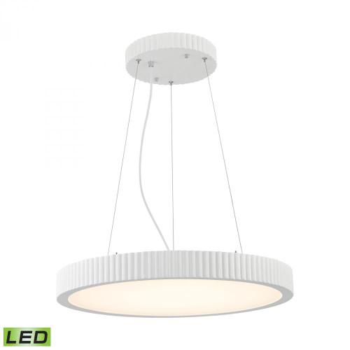 Digby 48 Watt LED Pendant In Matte White LC603-10-30