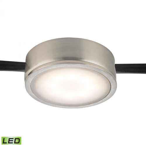 Tuxedo 1 Light LED Undercabinet Light In Satin Nickel MLE201-5-16M