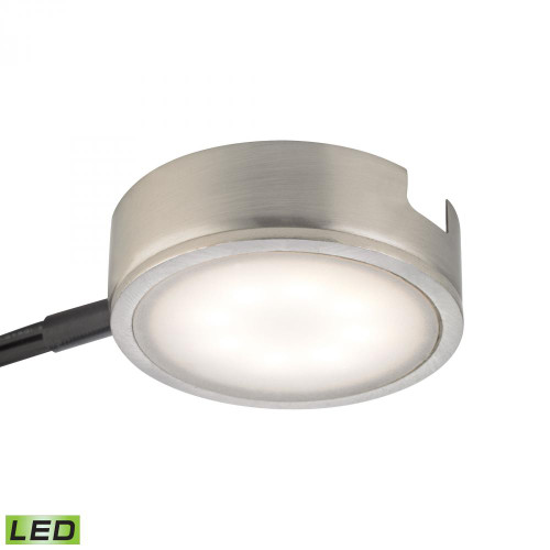 Tuxedo 1 Light LED Undercabinet Light In Satin Nickel With Power Cord And Plug MLE301-5-16M