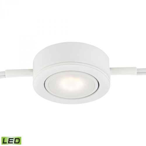 Tuxedo Swivel 1 Light LED Undercabinet Light In White MLE401-5-30