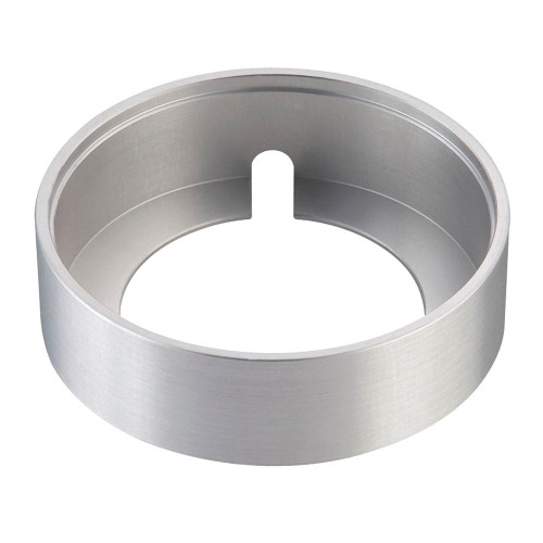 Maggie Surface Mount Collar In Brushed Aluminum WLC140-N-98