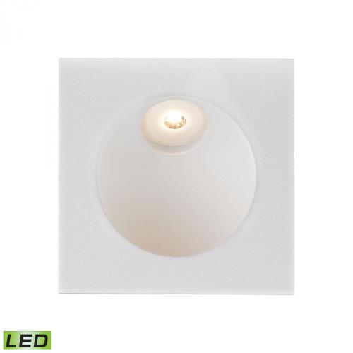 Zone LED Step Light In Matte White WSL6210-10-30