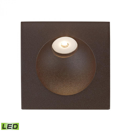 Zone LED Step Light In Matte Brown WSL6210-10-45