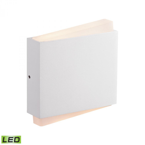 Fairmont LED Wall Sconce In Matte White WSL901-30-30
