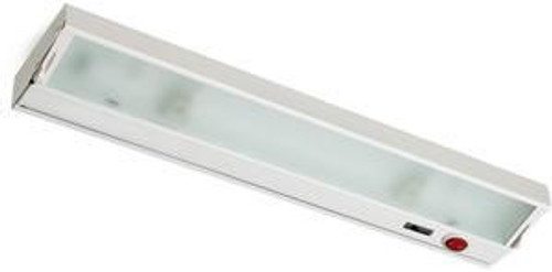 Zeeline 6 Lamp Xenon Cabinet Light In White With Diffused Glass ZL048RSF