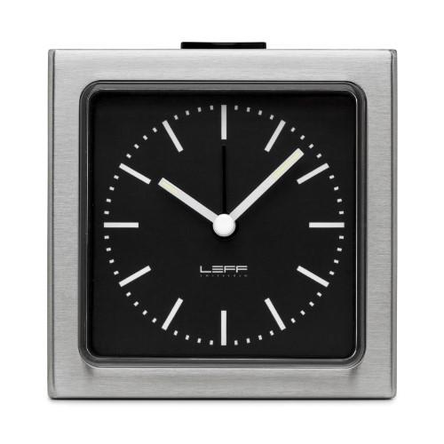 alarm clock block black index