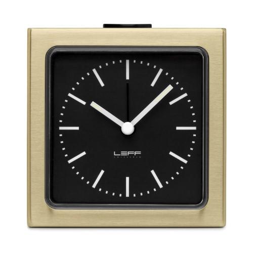 Home Decor By Leff Amsterdam alarm clock block brass black index