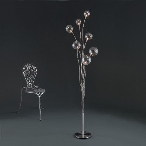 Lamps By Harco Loor Big Bubbles Floor Lamp 7 LED