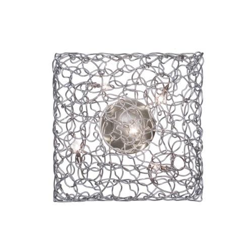 Carre Wall Sconce/Semi-Flushmount Ceiling Light 5