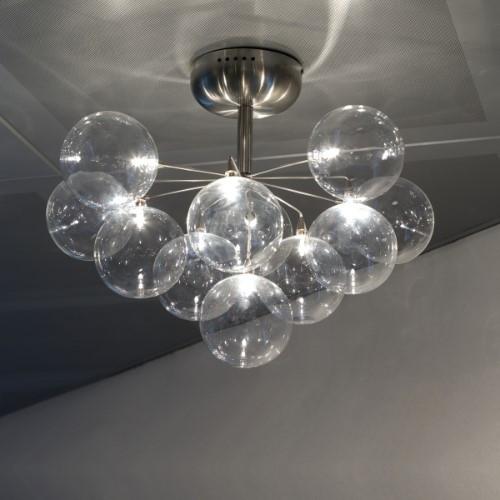 Cluster Semi-Flushmount Ceiling Light 11