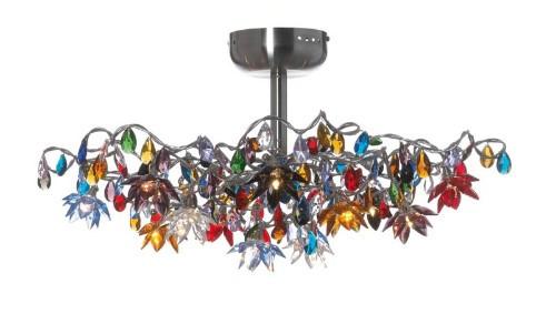Jewel Semi-Flushmount Ceiling Light 12