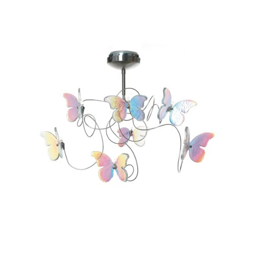 Papillon IRI Semi-Flushmount Ceiling Light 7