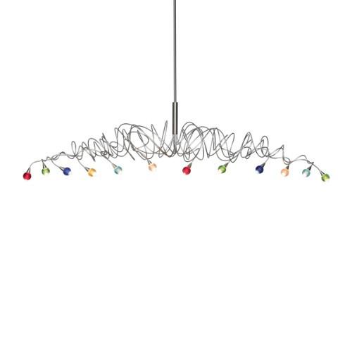 Sweet Long Chandelier 12 LED
