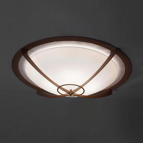 Synergy Modern LED Retrofit 39 Inch Flushmount Bowl 480-39