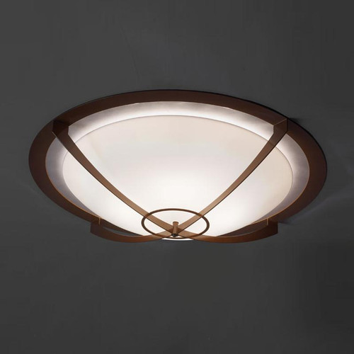 Synergy Modern Incandescent 39 Inch Flushmount Bowl 480-39