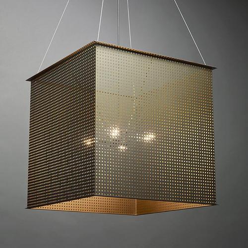 Clarus Modern Incandescent Multi Light Pendant Light 14319-SQ