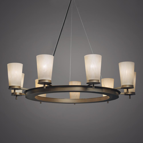Radius Modern LED Retrofit Up Light Chandelier 15345