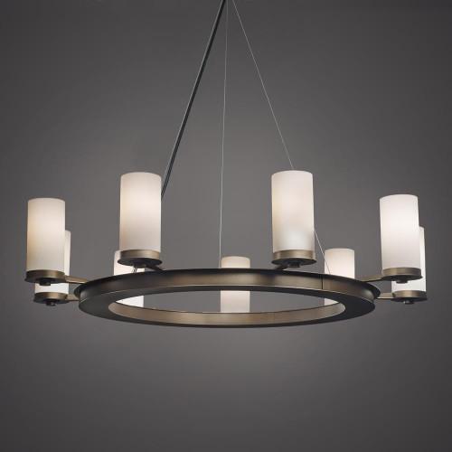 Radius Modern Incandescent Up Light Chandelier 15348