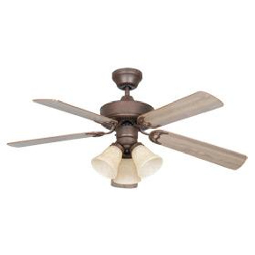 Sunset Heritage 42-Inch Brown Ceiling Fan CF42848-30-L