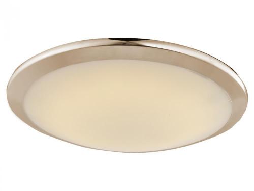 CERMACK ST. Flushmount Bowl in Brushed Nickel HF1102-BN