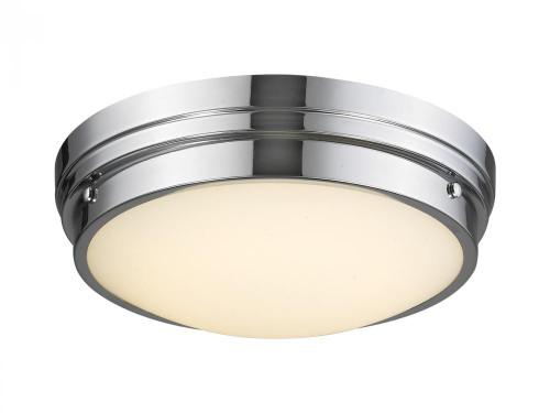 CERMACK ST. Flushmount Bowl in Polished Chrome HF1160-PN
