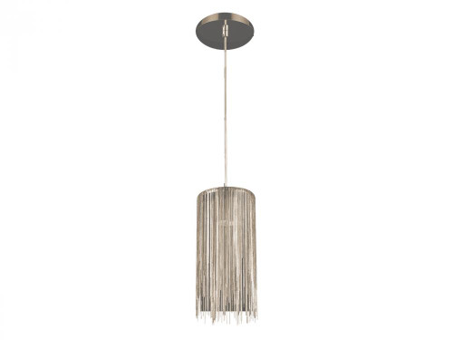 FOUNTAIN AVE. GOLD JEWELRY SQUARE HANGING FIXTURE Modern in Chrome HF1205-CH