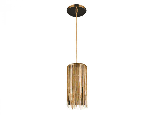 FOUNTAIN AVE. GOLD JEWELRY SQUARE HANGING FIXTURE Modern in Gold HF1205-G