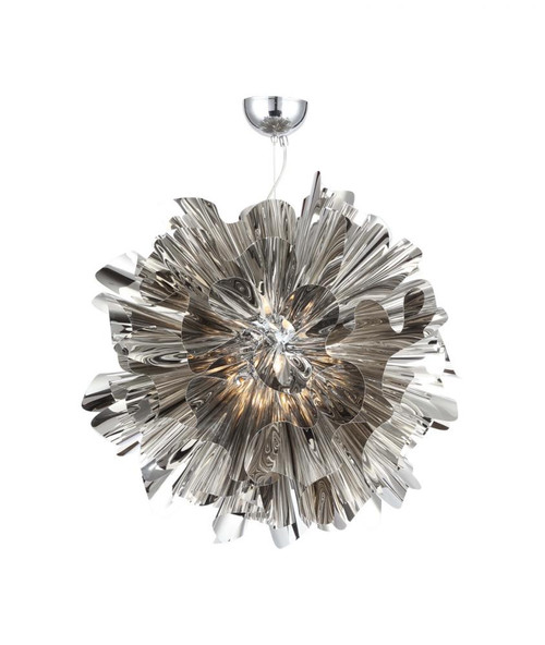 BOWERY LANE Pendant Light in Chrome HF1302-CH