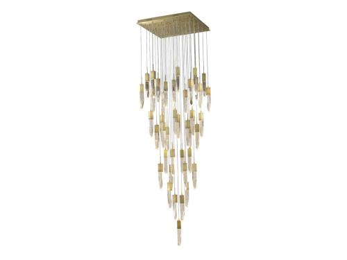 ASPEN Pendant Light in Brushed Brass HF1903-41-AP-BB