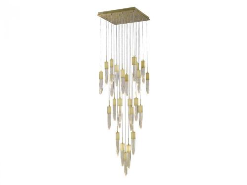 ASPEN Pendant Light in Brushed Brass HF1904-25-AP-BB