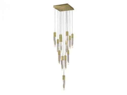 ASPEN Pendant Light in Brushed Brass HF1905-13-AP-BB