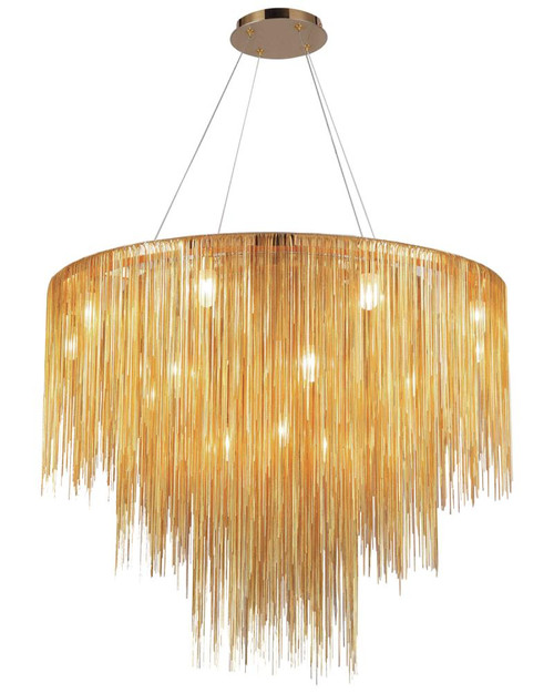 FOUNTAIN Contemporary Multi Light  CHANDELIER HF2222-G