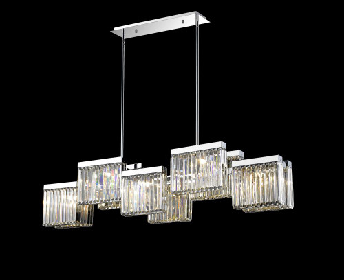 BROADWAY Other Chandeliers in Polished Nickel HF4010-PN