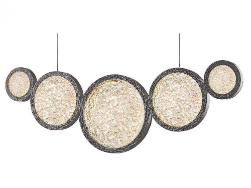 BOTTEGA LED Chandeliers in Polished Nickel HF5010-PN