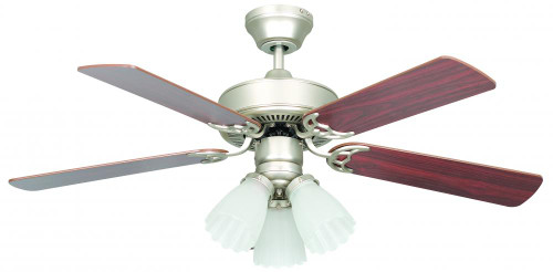 Concord By Luminance 42 Inch Heritage Home Ceiling Fan - Satin Nickel 42HEH5ESN